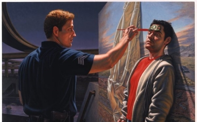 F. Scott Hess, Light, 2005, oil on canvas (courtesy of the artist and Municipal