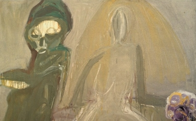 (detail) Eva Hesse, No title, 1960, Ursula Hauser Collection, Switzerland