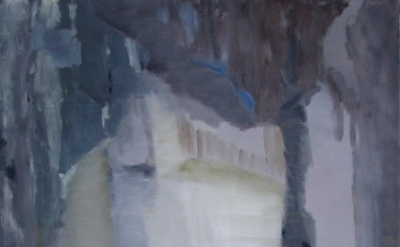(detail) An Hoang, On a Dark Night, 2014, oil on canvas, 50 x 40 inches (courtes