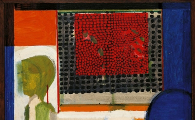 Howard Hodgkin, Small Japanese Screen or The Japanese Screen, 1962–63 (© Howard Hodgkin)