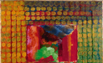 Howard Hodgkin, Portrait of the artist, 1984-87 (Private Collection © Howard Hodgkin)