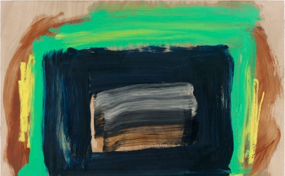Howard Hodgkin, The Rains Came, 2014 (© Howard Hodgkin, photo by Prudence Cuming