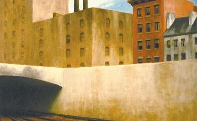 Edward Hopper, Approaching a City, 1946 (Phillips Collection, Washington, D.C.)