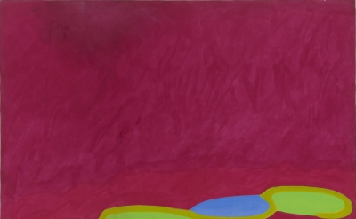 John Hoyland, 17.5.64 (© The John Hoyland Estate)