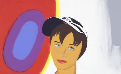(detail) David Humphrey, Tara, 2014, acrylic on canvas, 54 x 44.5 inches (courte