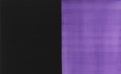(detail) Callum Innes, Untitled no 31, 2012, oil on linen, 160 x156cm (courtesy