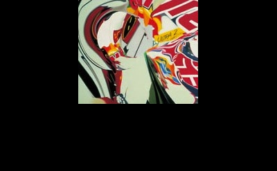 (detail) James Rosenquist, The Swimmer in the Econo-mist (painting 2), 1997, Oil