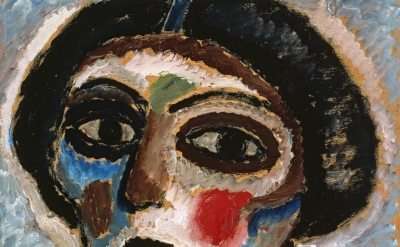 Alexei Jawlensky, Woman's Head, 1913 (Courtesy of the San Francisco Museum of Modern Art / ARS, NY / Photograph by Don Ross)