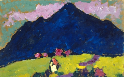 Alexei Jawlensky, Murnau, c1910, oil on cardboard (National Gallery of Art, Washington D.C., Gift of Mr. and Mrs. Ralph F. Colin © 2016 Artists Rights Society (ARS), New York for Alexei Jawlensky)