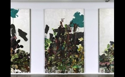 (detail) Zhu Jinshi, 权力与江山 (Power and Country), 2007-2010, oil on canvas, each: