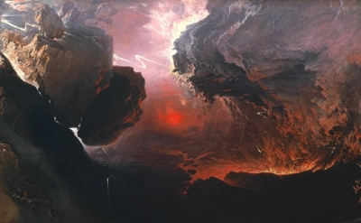 John Martin, The Great Day of His Wrath, 1851-3 (detail)