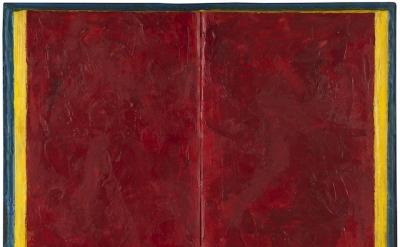 Jasper Johns, Book, 1957 (courtesy of Craig F. Starr Gallery)