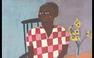 (detail) William H. Johnson, Aunt Alice, 1944 (courtesy of Morgan State Universi