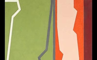 (detail) Medford Johnston, Samburu, 1988, acrylic, modeling paste, and pencil on