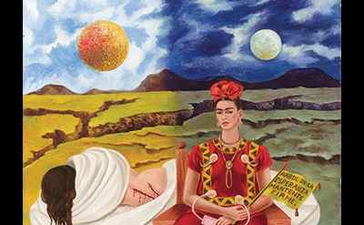 (detail) Frida Kahlo, Arbol de la Esperanza (Tree of Hope), 1946 ©2014 Banco de