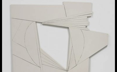 Wyatt Kahn, Fat, 2012, Raw Canvas on Panel (courtesy of Hannah Barry Gallery)