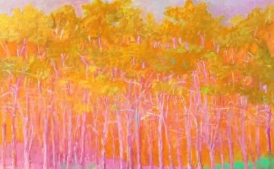 Wolf Kahn, Strong Color, 1993 (courtesy of Ameringer McEnery Yohe)