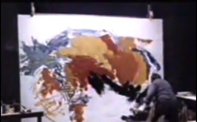 Video Capture: Karel Appel in studio