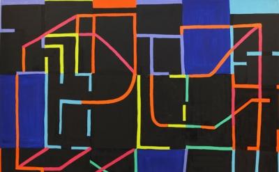 (detail) Jason Karolak, Untitled (P-1503), 2015 (courtesy of the artist and McKe