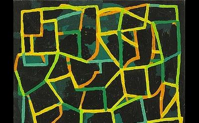 (detail) Jason Karolak, Untitled (P-1112), 2011, oil on linen, 15 x 13 inches (c