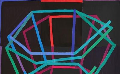 (detail) Jason Karolak, Untitled (P-1504), 2015, oil on linen, 18 x 16 inches (c