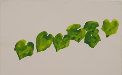 Ellsworth Kelly, Wild Grape, 1961, watercolor on paper, 22 1/8 x 28 1/2 inches,