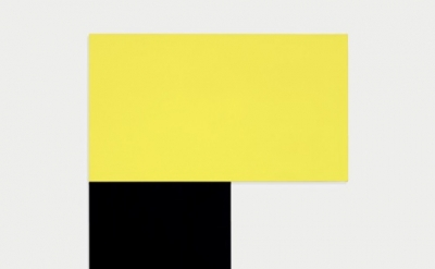Ellsworth Kelly, Chatham XII: Yellow Black 1971 (Collection of the artist. © Ell