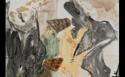 (detail) Rosy Keyser, Early Magic, 2015 (courtesy of Maccarone Gallery)