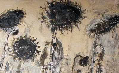 (detail) Anselm Kiefer, The Orders of the Night, 1996 (Seattle Art Museum © Anse