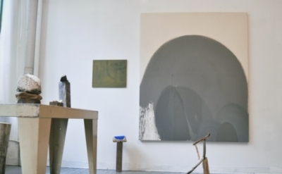 Benjamin King, studio view (courtesy of the artist: photo Henry Samelson)