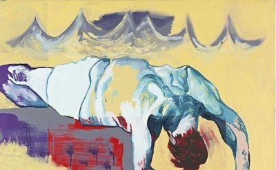 Martin Kippenberger, Untitled (from the series The Raft of Medusa), 1996 (© Esta