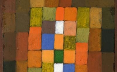 (detail) Paul Klee, Static-Dynamic Intensification, 1923 (Metropolitan Museum of