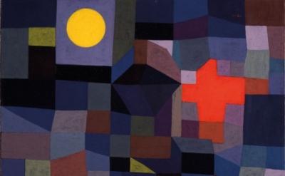 Paul Klee, Fire at Full Moon, 1933 (Museum Folkwang, Essen, Germany)