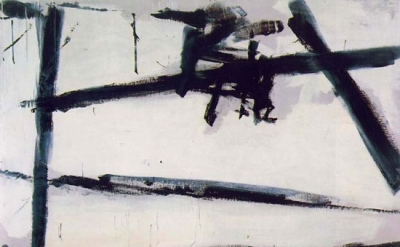 Franz Kline, Painting Number 2, 1954, oil on canvas, 80 1/2 inches x 105 inches