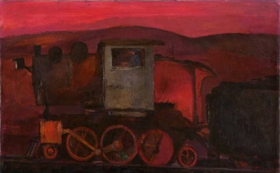 Franz Kline, Chief (Train), 1942, Orr Collection, © 2012, The Franz Kline Estate