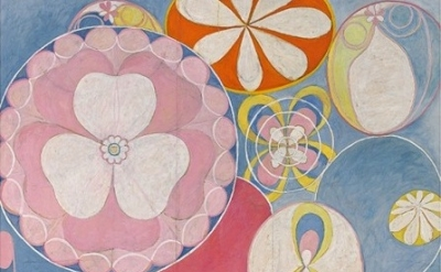 (detail) Hilma af Klint, The Ten Biggest, No 2, 1907, oil and tempera on paper,