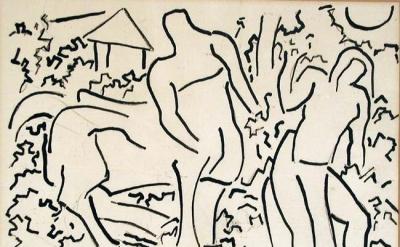 drawing by Karl Knaths
