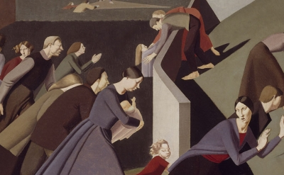 Detail of a painting by Winifred Knights (courtesy of Dulwich Picture Gallery)