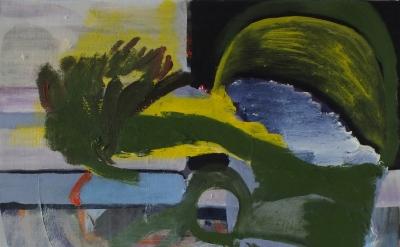 (detail) Siri Kollandsrud, Come Wait, 2013, oil on canvas, 40 x 40cm (courtesy o
