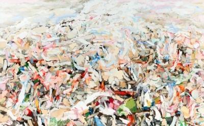 Uwe Kowski, Halde, 2012, oil on canvas, 210 x 265 cm (courtesy Galerie EIGEN + A