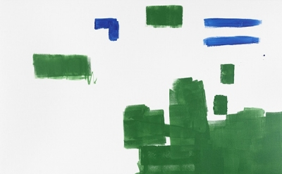 Michael Krebber, MK/M 2014/01, 2014 (courtesy of Galerie Buchholz)