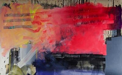 (detail) Alexander Kroll, Am I An Imaginary Man, 2012, oil on linen, 80 x 70 inc
