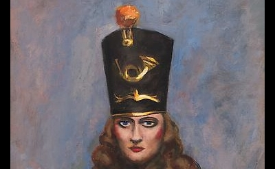 (detail) Walt Kuhn, Woman in Majorette Costume, 1944, oil on linen, 30 x 25 inch