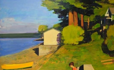 (detail) Kurt Solmssen, Vaughn Morning, Oil, 2010, 50 x 70 inches