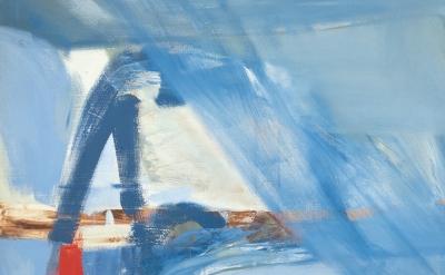 (detail) Peter Lanyon, Soaring Flight, 1960 (Arts Council Collection, Southbank