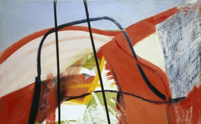 (detail) Peter Lanyon, Glide Path, 1964, oil and plastic on canvas, 60 x 48 inch