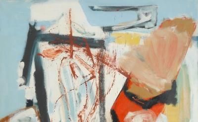 Peter Lanyon, Saracinesco, 1961 (© Lanyon Estate/Modern Art Press 2018)