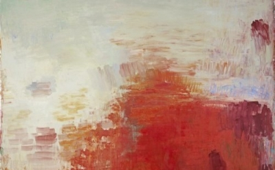 (detail) Christopher Le Brun, Painting as Sunrise, 2013, oil on canvas, 111.81 x