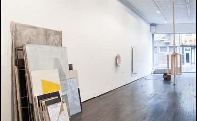 Installation view: Jim Lee: Please Be Clean When You Do It at Nicelle Beauchene