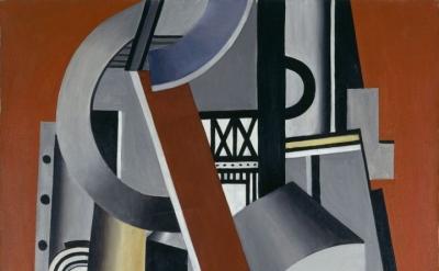 Fernand Léger, Elément mécanique, 1924, oil on canvas, 146 x 97 cm (Collection Centre Pompidou, Paris, Musée national d'art moderne – Centre de création industrielle; © Centre Pompidou, MNAM-CCI/Jacques Faujour/Dist. RMN-GP © Adagp, Paris, 2017)